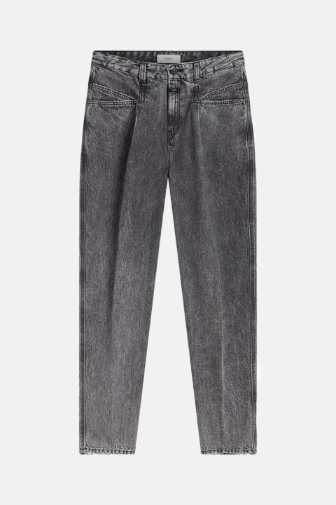 Dark grey x-pocket jeans