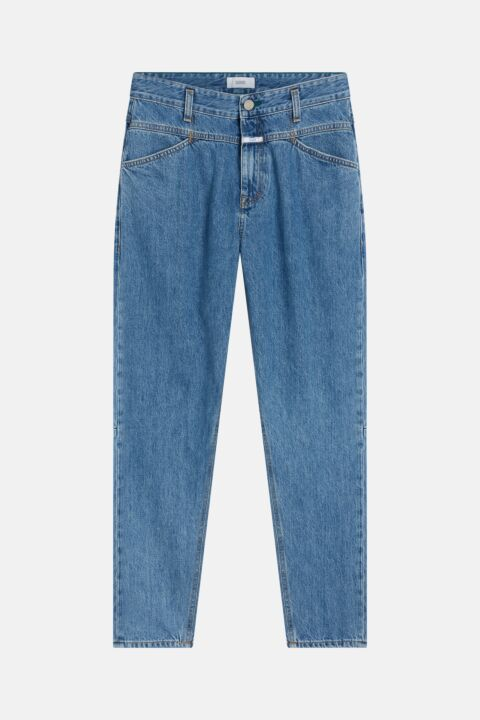Blue x-pocket jeans