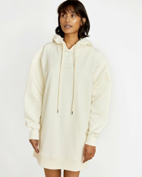 Oversized off white hoodie