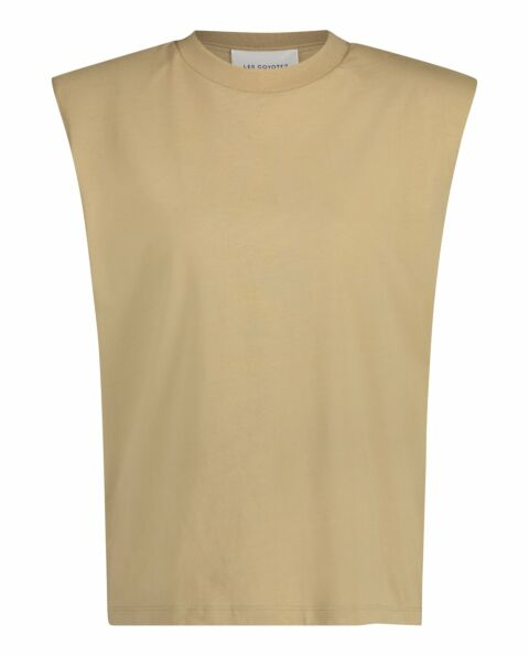 Beige organic cotton top