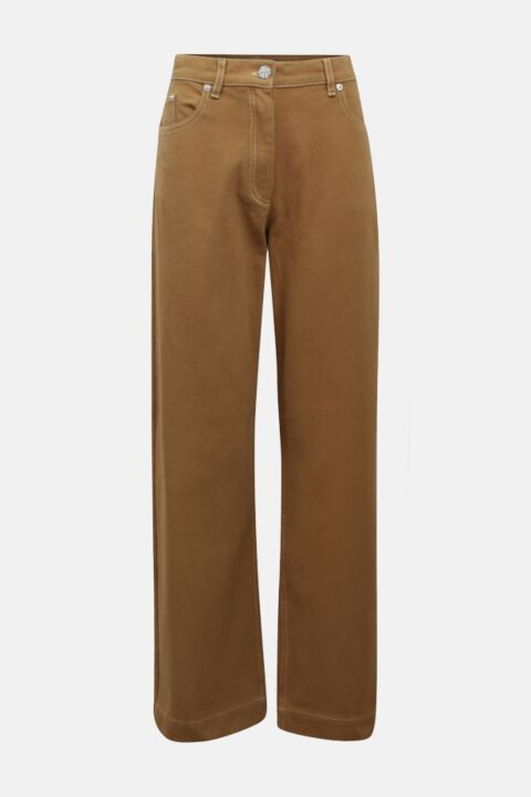 Camel high rise jeans