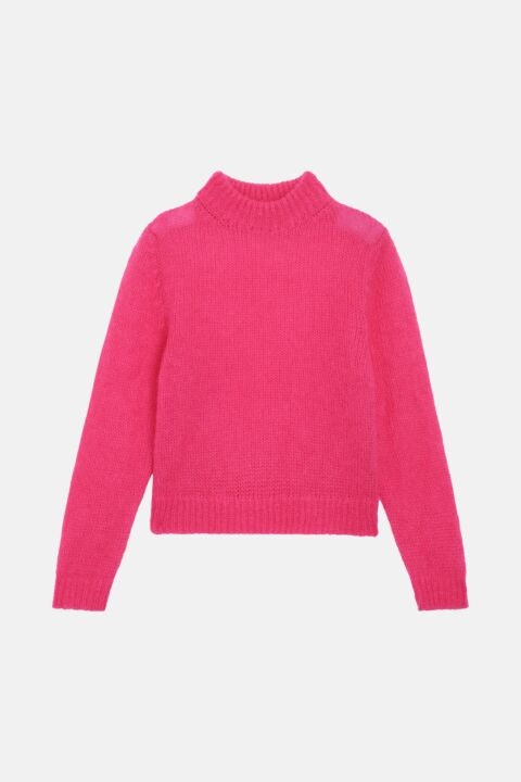 Wide pink jumper