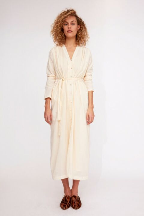 Cotton maxi dress