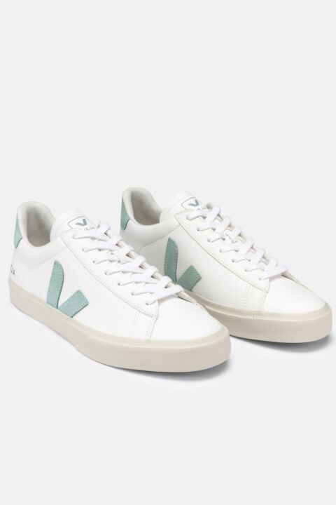 White matcha campo sneakers