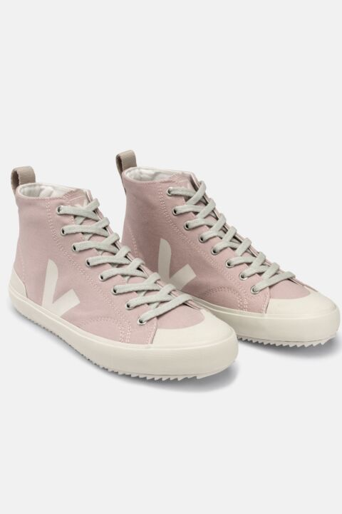 Nova mauve high-top sneakers