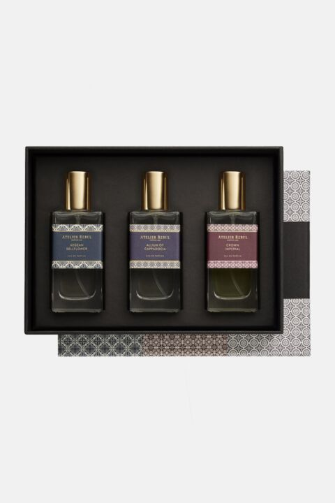 Gift box parfum trio set