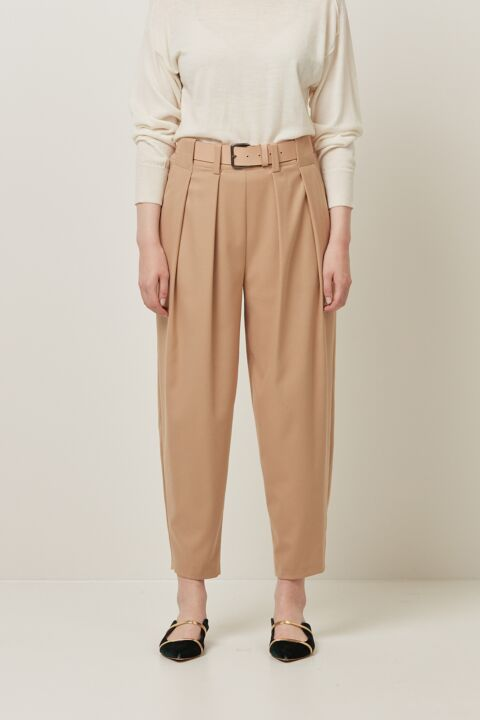 Trousers double front pleat
