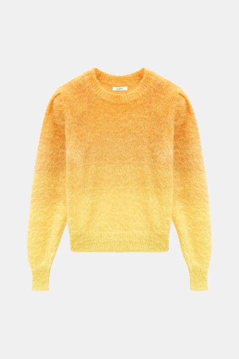 Ombre effect knit