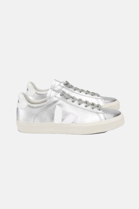 Silver campo sneakers