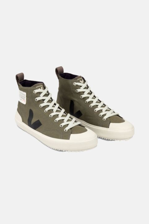 Nova ripstop lace up sneakers